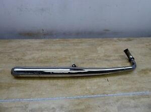 Details about 1972 Yamaha DS7 250 YDS7 Y360-7a  right exhaust header  muffler tail pipe