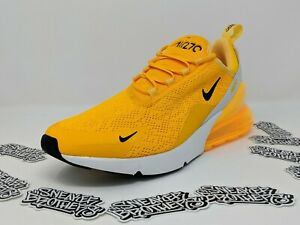 Details about Nike Women's W Air Max 270 University Gold Black White CK1675 700