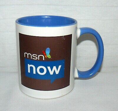 Microsoft 10 Oz Msn Now Butterfly Coffee Mug Cup High Tech Ebay