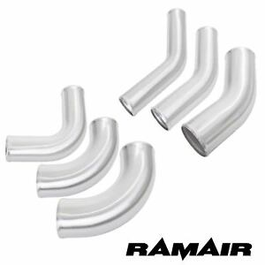 Ramair-Brushed-Alloy-Elbow-Aluminium-Bend-Metal-Intake-Intercooler-Boost-Pipe