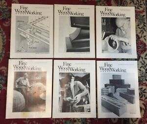 FINE WOODWORKING MAGAZINE   LOT OF 6  YEAR 1983