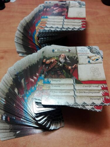ZOMBICIDE BLACK PLAGUE - CHARACTER CARDS - Choose yours! Consult languages.