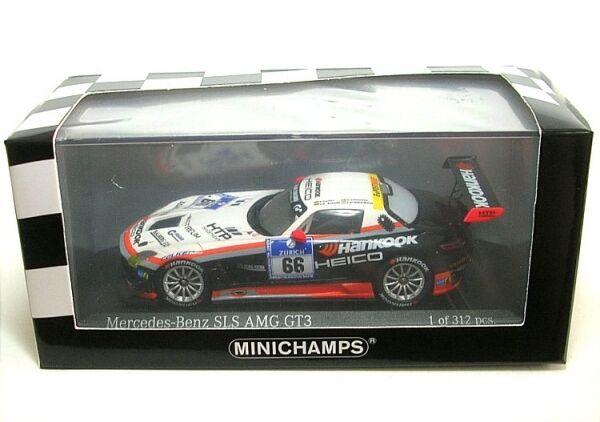 Mercedes-benz sls amg GT3 No.66 24H nürburgring 2012