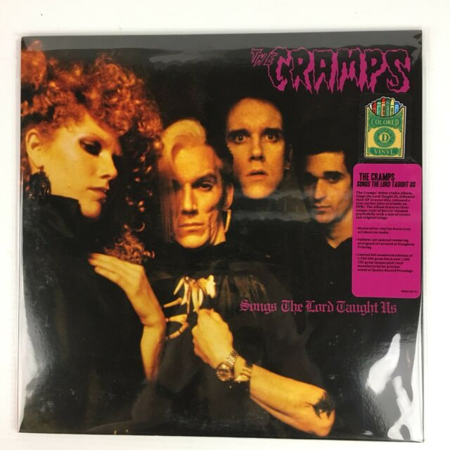 Cramps, The - Songs The Lord Taught Us LP Record - BRAND NEW - Color Vinyl