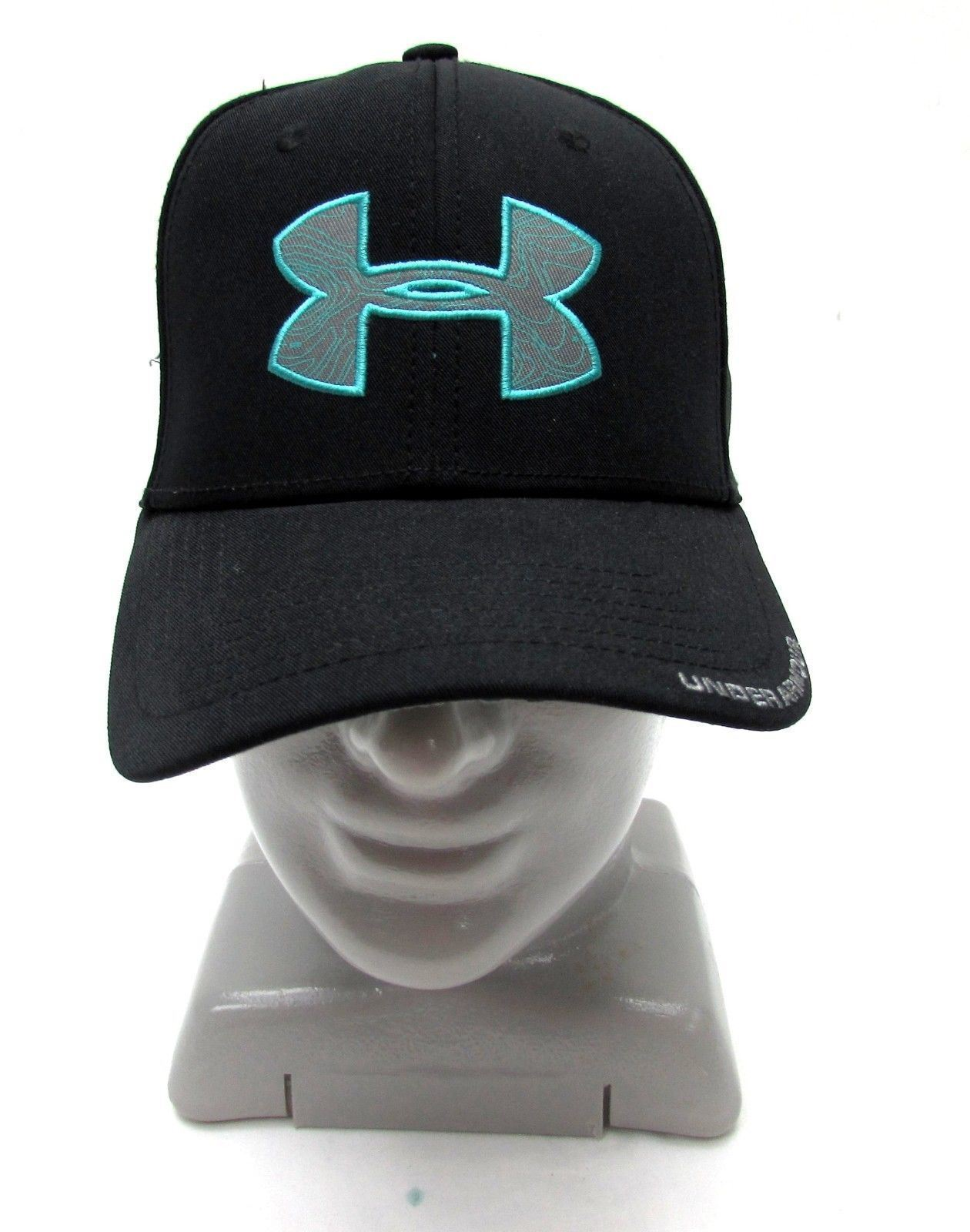 under cap armour mens osfa hat cap under black heat gear e2d9e2