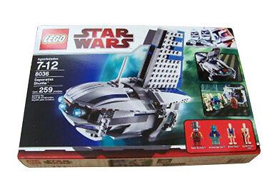 LEGO 8036 estrella guerras   SEPARATIST SHUTTLE   259pc  nuovo SEALED  prezzi bassi di tutti i giorni