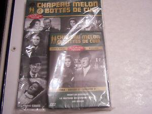 CHAPEAU-MELON-ET-BOTTES-DE-CUIR-DVD-MAGAZINE-NEUF-SOUS-BLISTER-SAISON-4