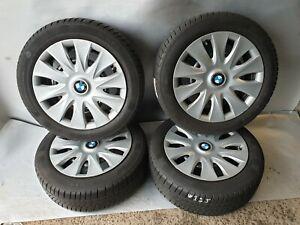 Pneus-hiver-neuf-Conti-BMW-1er-f20-f21-RDK-Capteurs-195-55-r16-87-H-MS-8-mm