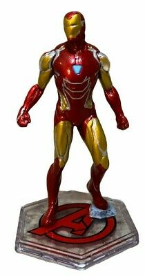 Disney Store Authentic Red IRON MAN FIGURINE Cake TOPPER AVENGERS Marvel NEW