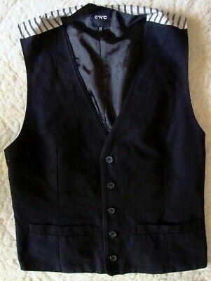 Brioso Vest Gilet Vintage 90's Costume National C'n'c Made In Italy 52/38-l Circa Sconto Complessivo Della Vendita 50-70%