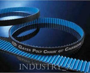 8mm Pitch x 12mm W x 720mm Gates GT Poly Chain Carbon Timing Belt 8MGT-720-12