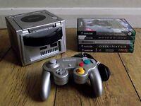 Nintendo Gamecube Console (PAL) and Games Bundle