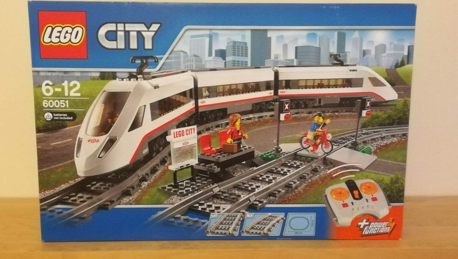 LEGO City 60051 HIGH-SPEED PASSENGER TRAIN - - Brand new - TRAIN Trains ce18bd
