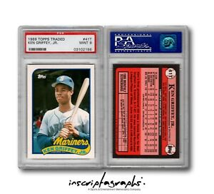 1989-Topps-Traded-Ken-Griffey-Jr-Rookie-Card-Graded-PSA-9-RC-41T-Mariners