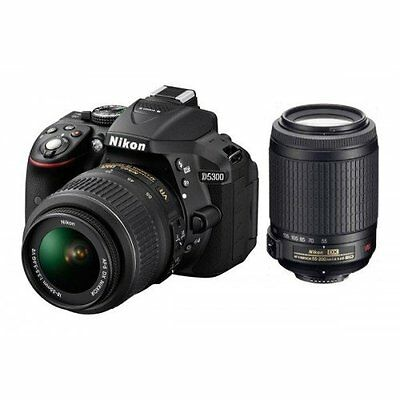 Nikon D5300 DX-Format Digital SLR kit AF-S 18-140mm VR (Black)