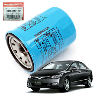 Details About Oil Transmission Filters Blue Genuine 1 Pc For Honda Civic Fd 2006 2017