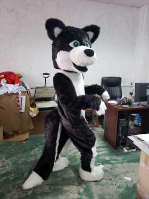 Golden Goofy Mascot Costume Cartoon Dog Christmas Cosplay Party Fancy Dress Suit