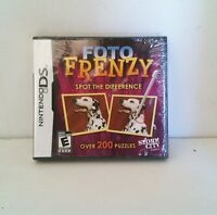 Foto Frenzy For Nintendo Ds Lite Dsi Xl 3ds 2ds Brand Sealed