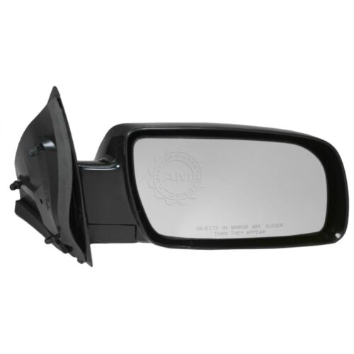 Manual Side View Mirror Black Passenger Right RH for 88-05 Chevy Astro Safari