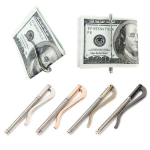 New Metal Money Clips Holder Bar Wallet Replace Part Cash Spring Clamp Popular