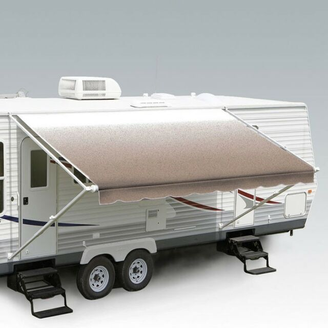 """RV Camper Trailer Carefree of Colorado Travel'r 12' 6"""" Awning Canopy Fabric"""