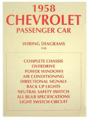 1958 Impala Wiring Diagram, Chevy Fullsize Car | eBay