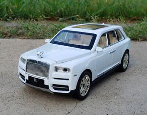 6.3 in Rolls Royce Cullinan Models Cars Metal Sound Light Pull Back car UK STOCK