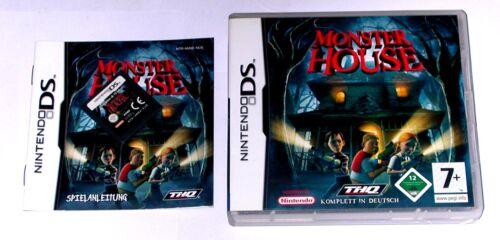 1 von 1 - Spiel: MONSTER HOUSE für den Nintendo DS + Lite + Dsi + XL + 3DS 2DS