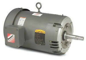 Vjmm3311t 7 5 hp 1735 rpm baldor surplus electric motor Surplus electric motor