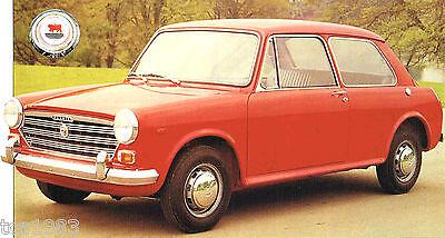 Broschüre 1972 1970,1971 Morris 1100/1300 Spezial Folie