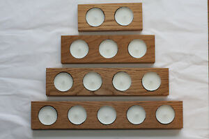 UK-Handmade-Wooden-Oak-Tea-Light-Candle-Holder-various-sizes
