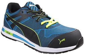 Detalles de Puma Blaze Knit Bajo Seguridad Zapatillas Zapatos Para Hombre  Trabajo Industrial UK6-12- ver título original