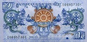 Butan-2013-1-Ngultrum-UNC