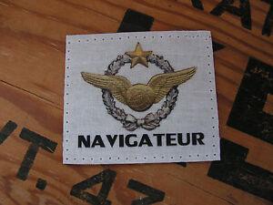 SNAKE PATCH - BREVET NAVIGATEUR - CHASSE BA vol AVION armée air FRANCE mirage