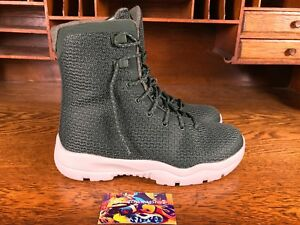 Details Dark 854554 Jordan Greenwhite Nike Air About Mens Future Winter Snow Size 8 300 Boot OPkXuTZi