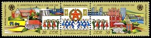 EBS-East-Germany-DDR-1988-Workers-039-Festival-Michel-3168-3169ZD-MNH