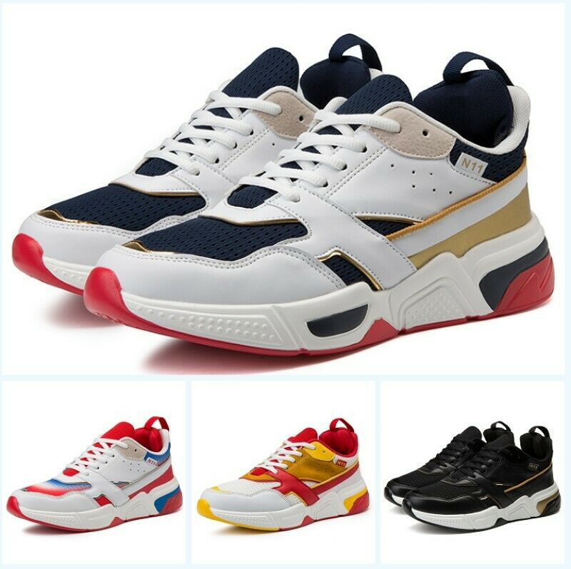 Men's Causual Round Toe Lace Up Breathable Road Running Climbing shoes Fashion