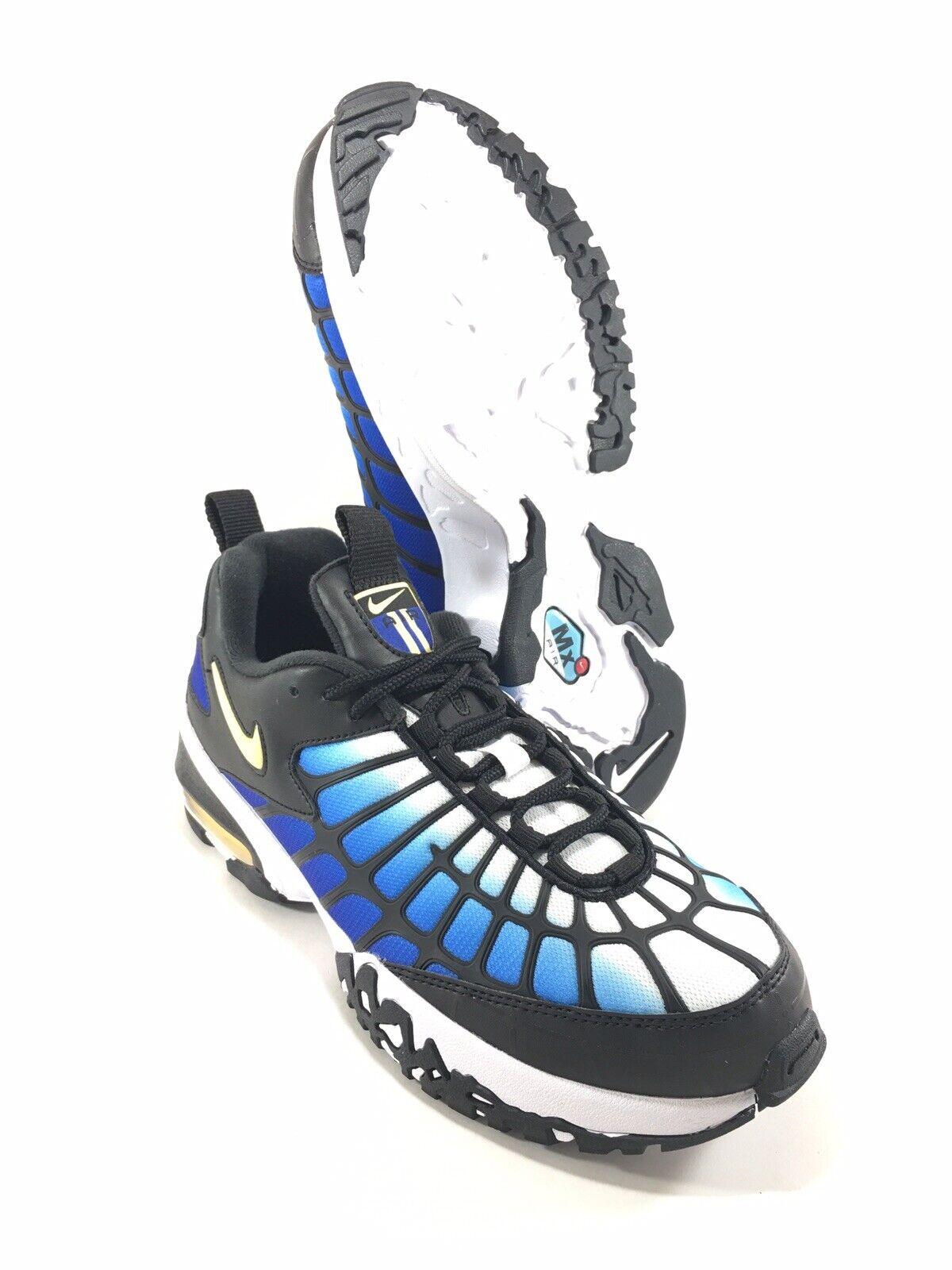 Nike Air Max 120 2015 Hyper bluee Chamois Black White 819857 400 Mens Size 9 New