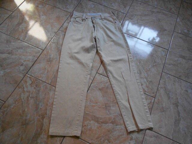 H8717 DIESEL NEW SADDLE Pantaloni w29 l32 Beige molto bene