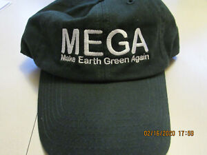 034-MEGA-Hat-034-Make-Earth-Green-Again-Washed-Twill-Cap-Green-White-Logo