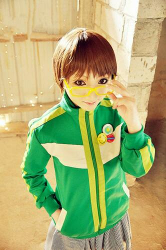 Persona 4 Chie Satonaka Cosplay Halloween uniform Costume Custom Made Any Size