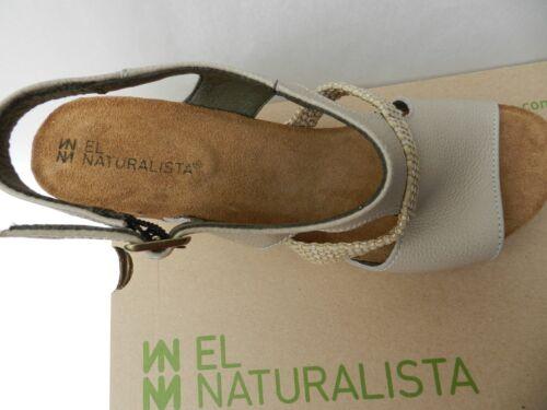 El 41 Sandales Naturalista N5031 Talon Femme Neuf Uk8 Mola Chaussures Espadrille pfxprqI