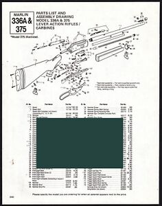 Details about 1992 MARLIN 336A and 375 Rifle & Carbine Schematic Parts on savage model 99, mossberg 500 schematic, mauser 98 schematic, savage 24 schematic, remington nylon 76, remington model 10 schematic, winchester rifle, smith & wesson m&p schematic, marlin firearms, henry rifle schematic, marlin model golden 39a, savage 99 schematic, winchester model 1894, marlin levermatic, browning blr schematic, winchester model 1892, remington 7600 schematic, springfield model 1873, colt lightning carbine, remington 788 schematic, marlin model 60, winchester 1894 schematic, browning blr, s&w model 60 schematic, shotgun schematic, marlin model 1894, ruger gp100 schematic, winchester model 94 schematic, savage model 110, marlin camp carbine, henry rifle, winchester model 71, marlin model 795, remington 870 schematic, ruger 10/22 schematic, mossberg model 464, mossberg 930 schematic, franchi schematic, remington model 11 schematic,