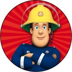 Ebay Fireman Sam Cake Topper