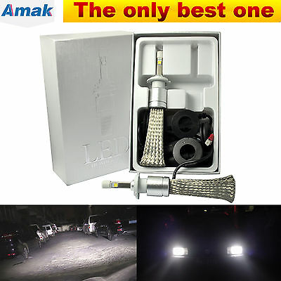 2X H7 LED Headlight Kit CREE XHP 9600LM 80W 6000K HID White High/Low Beam Bulbs