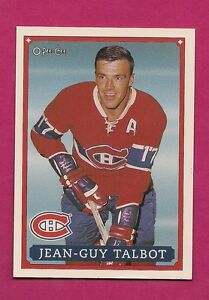 RARE-1992-93-OPC-53-CANADIENS-JEAN-GUY-TALBOT-FANFEST-LIMITED-5000-CARD