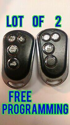 COOL START VVJ-T612S434 keyless entry remote fob transmitter alarm *FREE SHIP