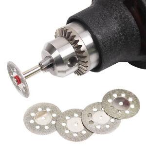 5-Stueck-Diamant-Trennscheibe-22mm-inkl-1-Aufspanndorn-fuer-Dremel-Proxxon-etc
