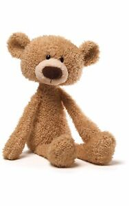 GUND-15-034-nwt-Toothpick-Teddy-Bear-Stuffed-Animal-Plush-Beige-light-tan