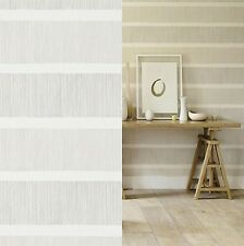 1 ROLL OF SANDERSON CHIKA COLLECTION TATAMI WALLPAPER 213739 SILVER